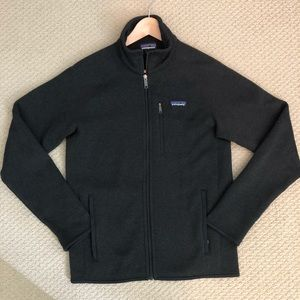 EUC Dark Gray Patagonia Better Sweater Jacket
